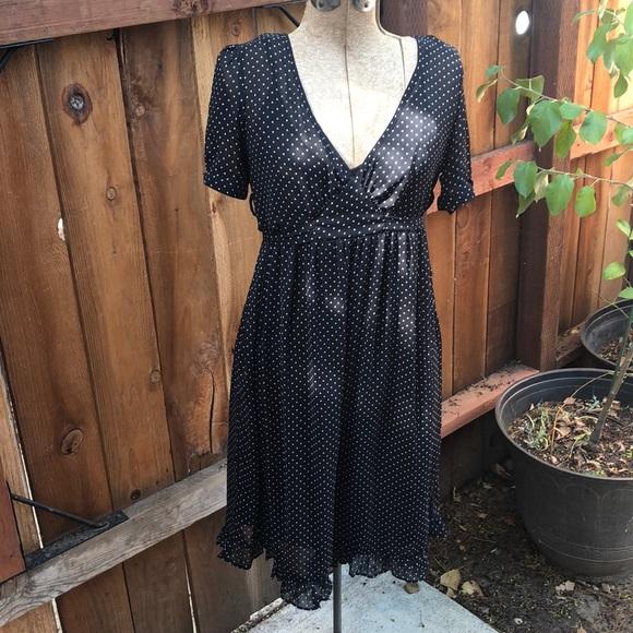Merona Dresses & Skirts - Merona dress polka dot S